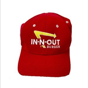 In N Out Burger Red Hat M/L